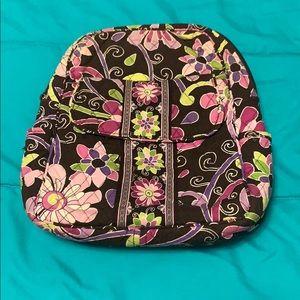 Vera Bradley Purple Punch mini backpack